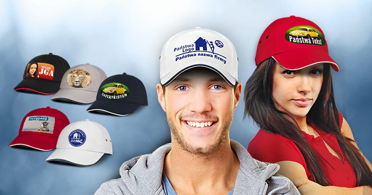 697fc4832 Zaprojektuj i zadrukuj nakrycie głowy – czapkę baseballową.