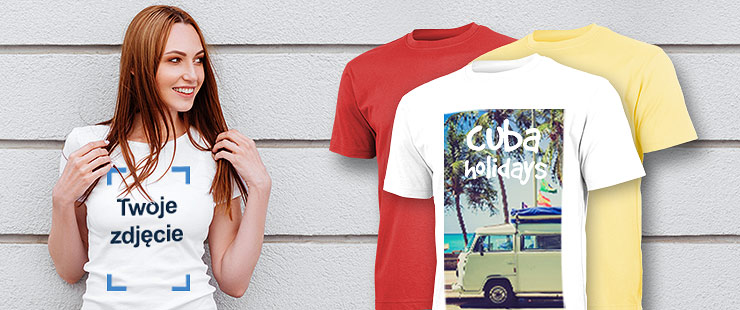 30979625a Zaprojektuj sam koszulkę ze zdjęciem i tekstem
