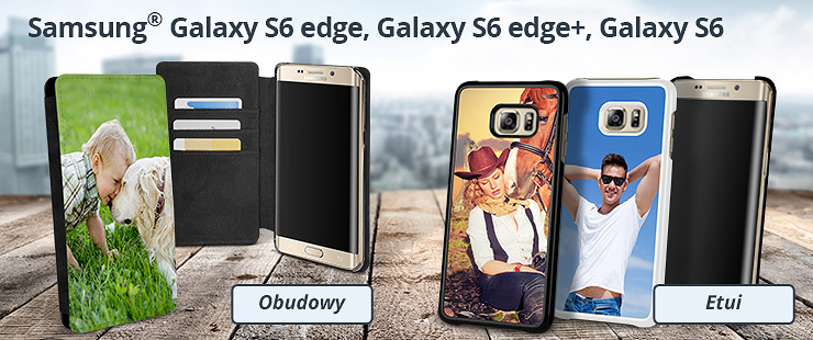 Zaprojektuj sam etui do Samsunga Galaxy S6 edge